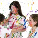 Babysitter that are willing to engage the kids are rare.  Be grateful if you have one.  (Image: ##http://www.photoxpress.com/stock-photos/painting/play/happy/818896##Jaimie Duplass##)